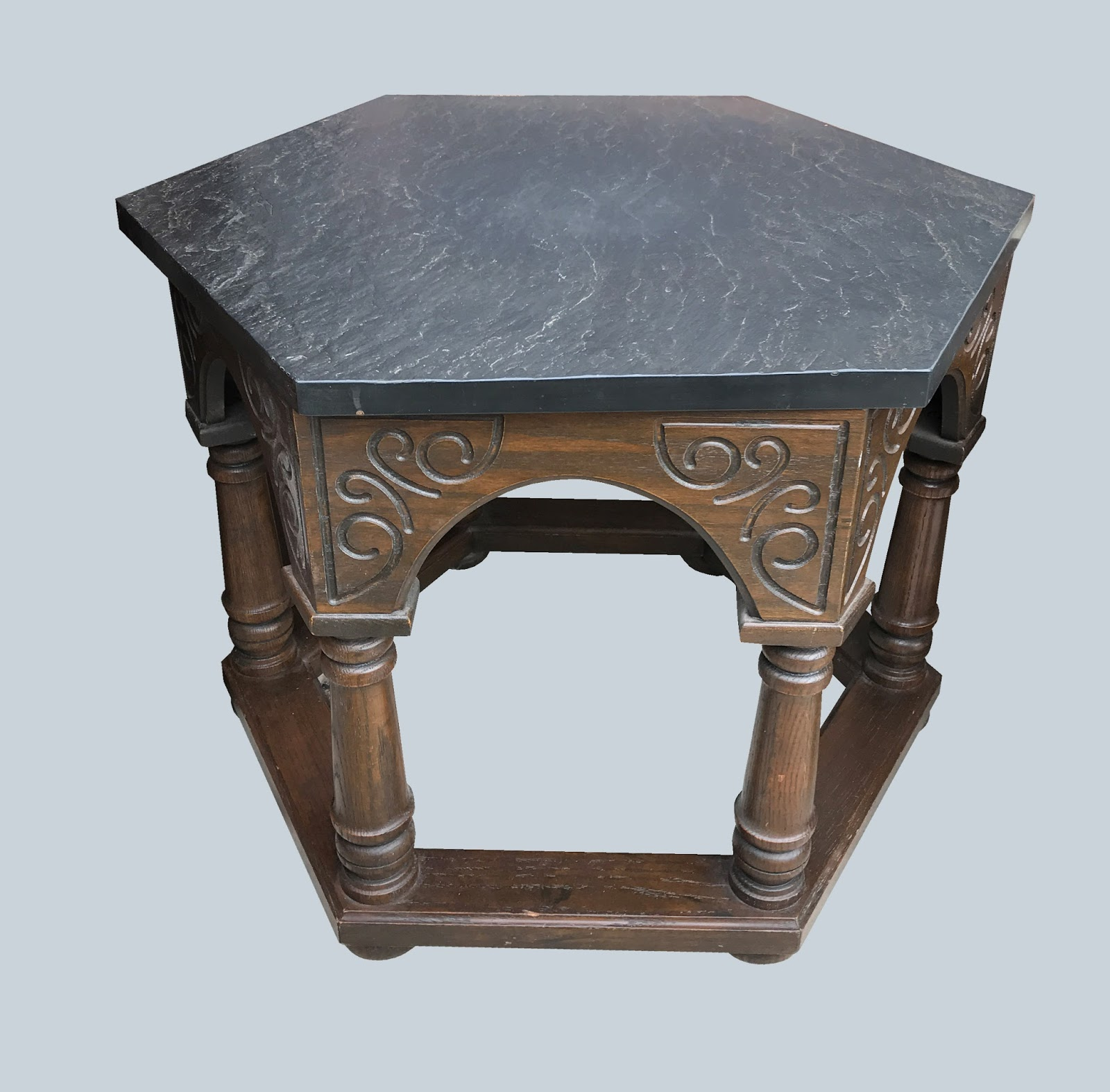 Uhuru Furniture & Collectibles: Gothic Coffee Table - $55 SOLD