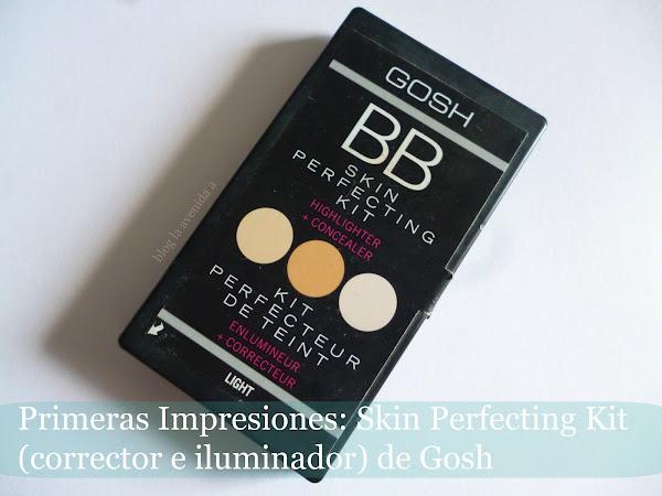 Primeras Impresiones: Kit de correctores e iluminador de Gosh