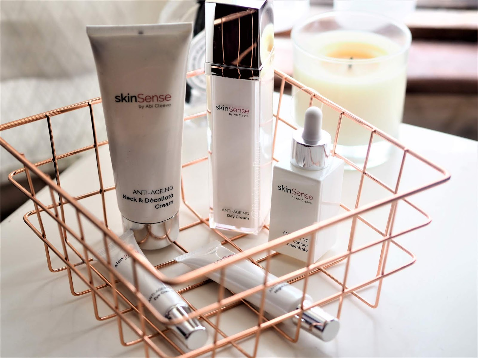 Skinsense 5 piece antiageing collection