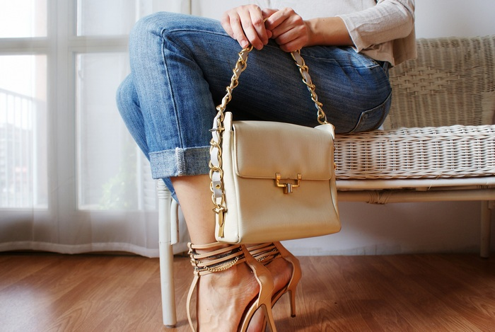 diy chain bag heels francinesplaceblog