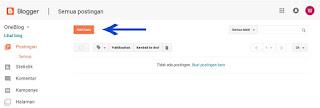 Cara membuat website gratis menggunakan blogspot