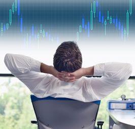 Professional forex trader work