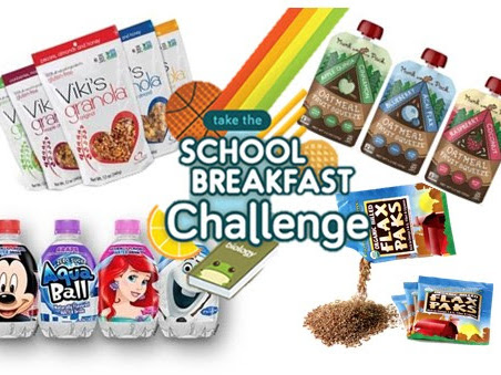 Take the School Breakfast Challenge  #review #nationalbreakfastweek