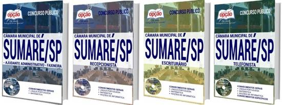 Apostila concurso Câmara de Sumaré 2017
