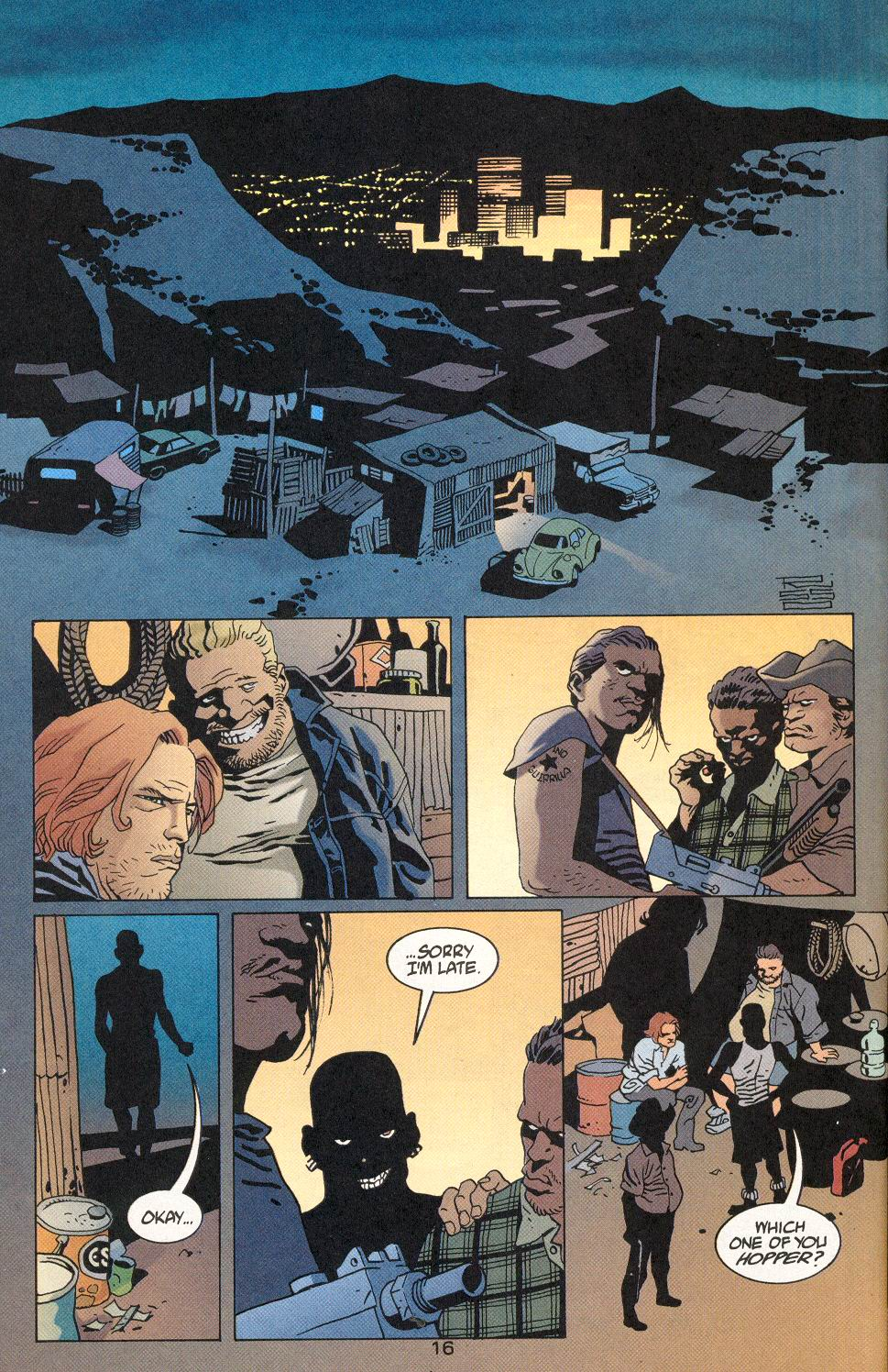 Read online 100 Bullets comic -  Issue #29 - 17