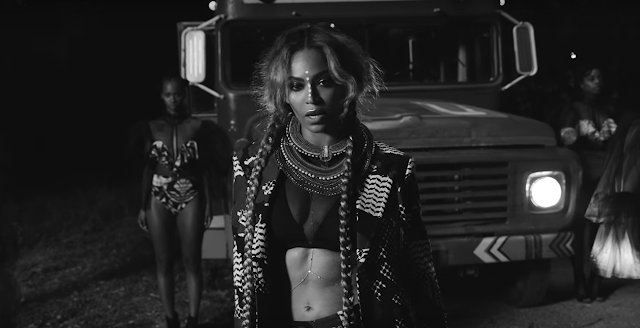 Bodysuit - Yousef Al Jasmi Metallic leather bralette - Zana Bayne Serena Williams - Brandon Maxwell  beyonce sorry lemonade i aint sorry boy bye fashion video style designer formation