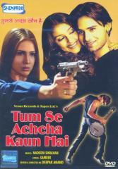 Poster Of Tum Se Achcha Kaun Hai 2002 720p Hindi DVDRip Full Movie Download