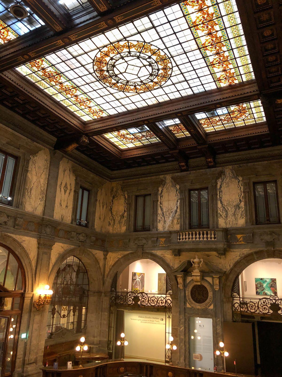 palazzo Zevallos Stigliano veduta interna