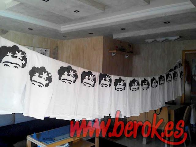Camisetas grafiteadas