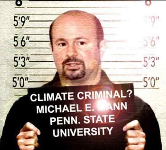 O prof. Michael E. Mann no tempo da polêmica pelo seu contestado gráfico