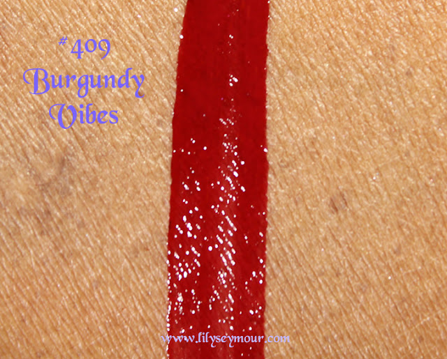 YSL #409 Burgundy Vibes