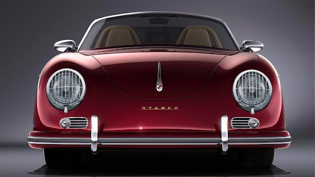 Porsche Boxster Disguised as 356 Speedster