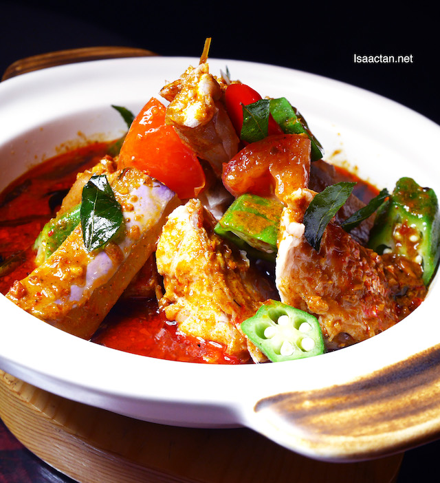 Assam Curry Fish Head (RM38++)