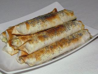 Yufka cu branza / Yufka with cheese