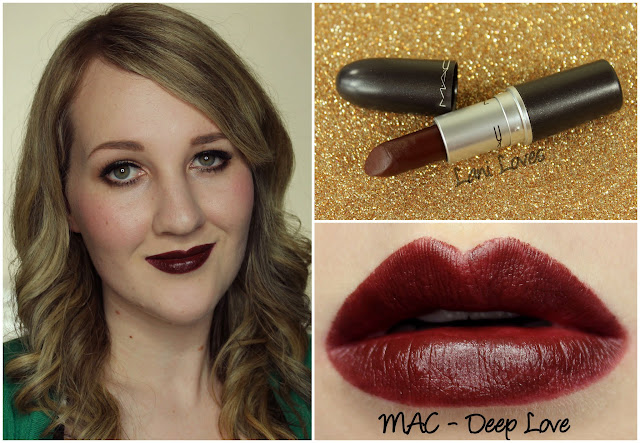 MAC Deep Love lipstick swatch