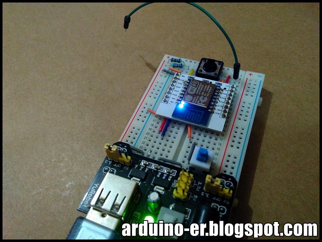 Arduino-er: Standalone ESP8266/ESP-12, read GPIO with pull