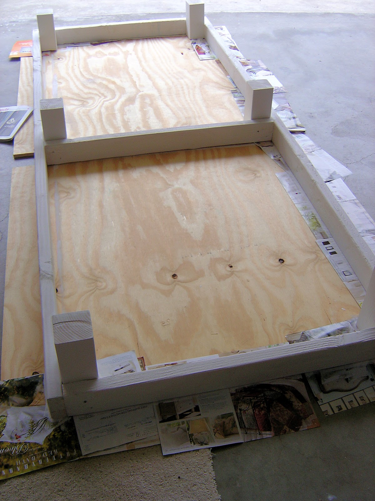 Simple Diy Outdoor Beds Home Design Inside
