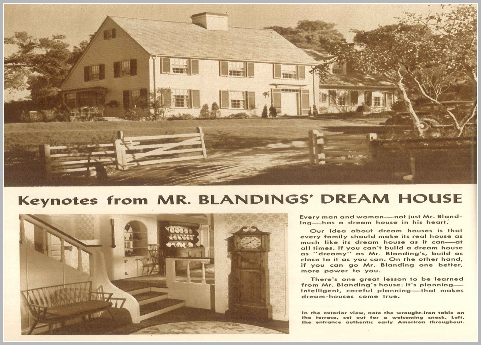 Superior A Reader Of This Website Generously Sent Me A List Of All The Blandings  Dream Homes They Have Found. It Is Very Cool To Look Up The Addresses On  Google Maps ...