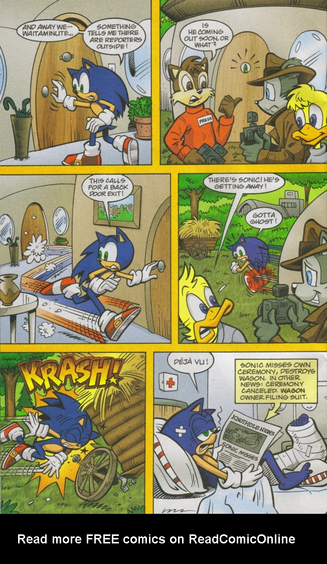 Read online Sonic The Hedgehog comic -  Issue #167 - 28