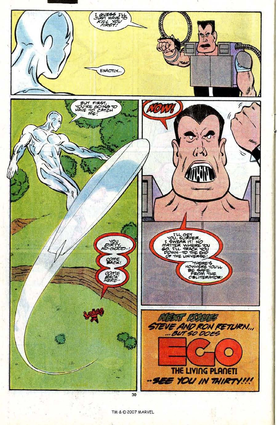 Read online Silver Surfer (1987) comic -  Issue #21 - 32