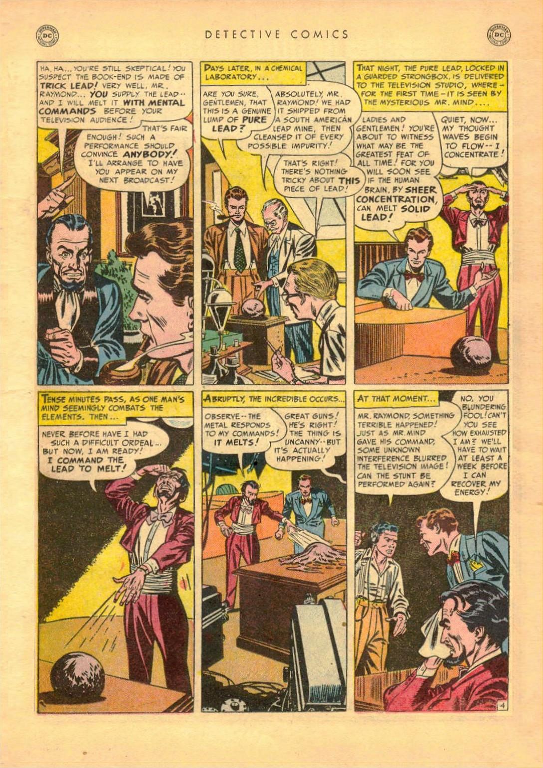 Read online Detective Comics (1937) comic -  Issue #161 - 20