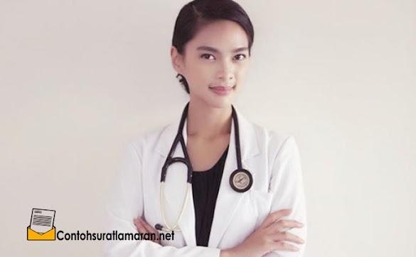 Contoh Surat Lamaran Pekerjaan Sebagai Dokter