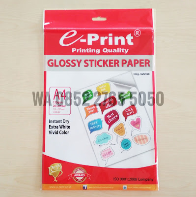 sticker paper eprint WA 0852 2765 5050