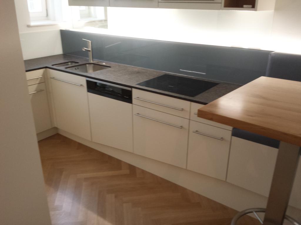 Steinplatte Küche Kreatives Haus Design