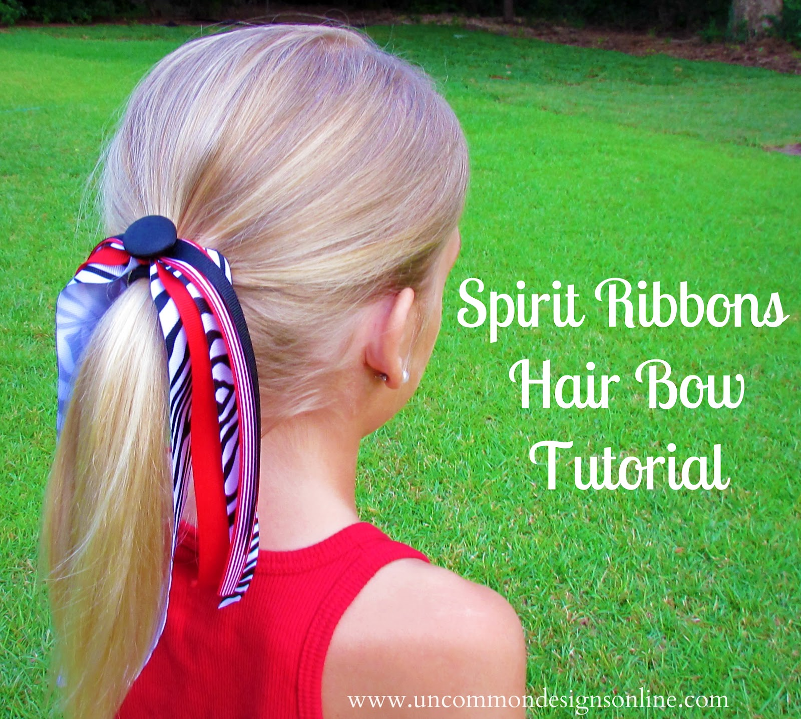 How To Make Spirit And Cheer Ribbons Hair Bows With The I Top Howtotiethebowtieknottyinginstructionspng Tutorial My Girls Both Love Tumble In Fact We Had A Birthday Party For Oldest Decided All Of Guests