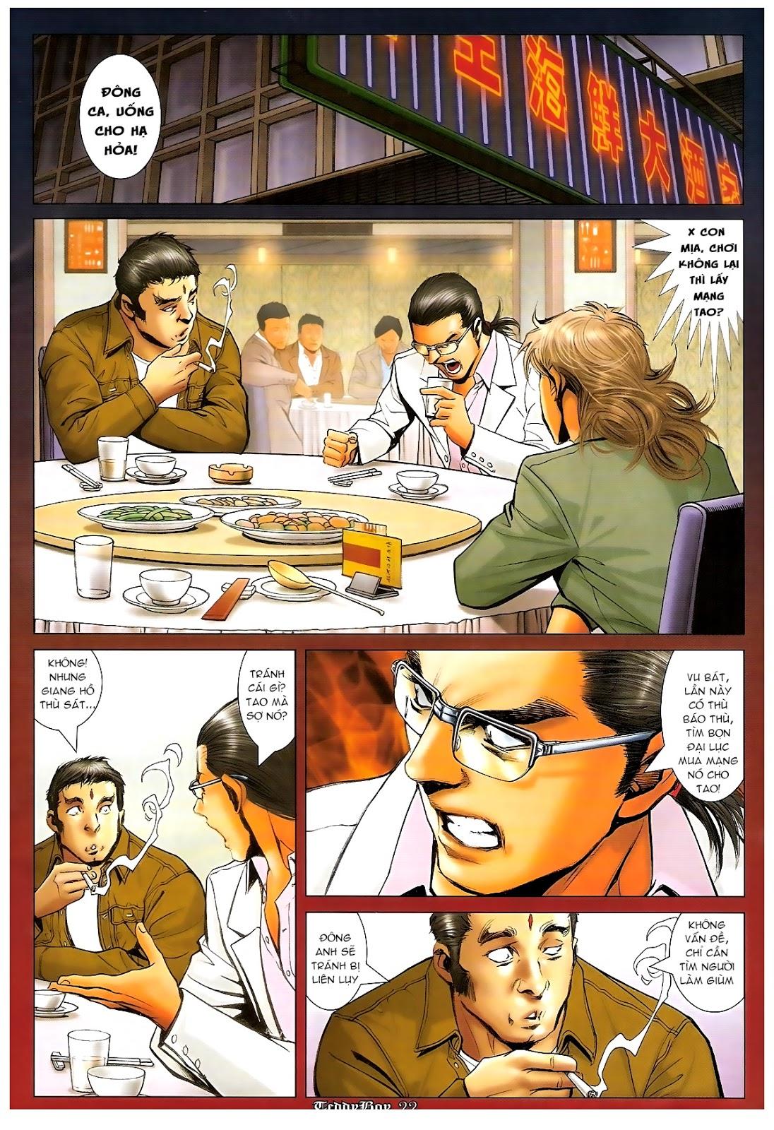 Người Trong Giang Hồ - Chapter 1206: Xúc Đại Đông - Pic 19