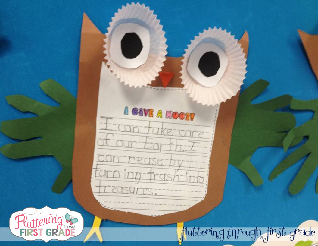 Earth Day writing and craft activity