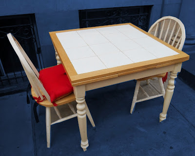 Uhuru Furniture Amp Collectibles Tile Top Dining Table W