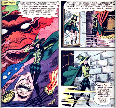 panels from Strange Adventures v1 #187 (1966). Property of DC comics.