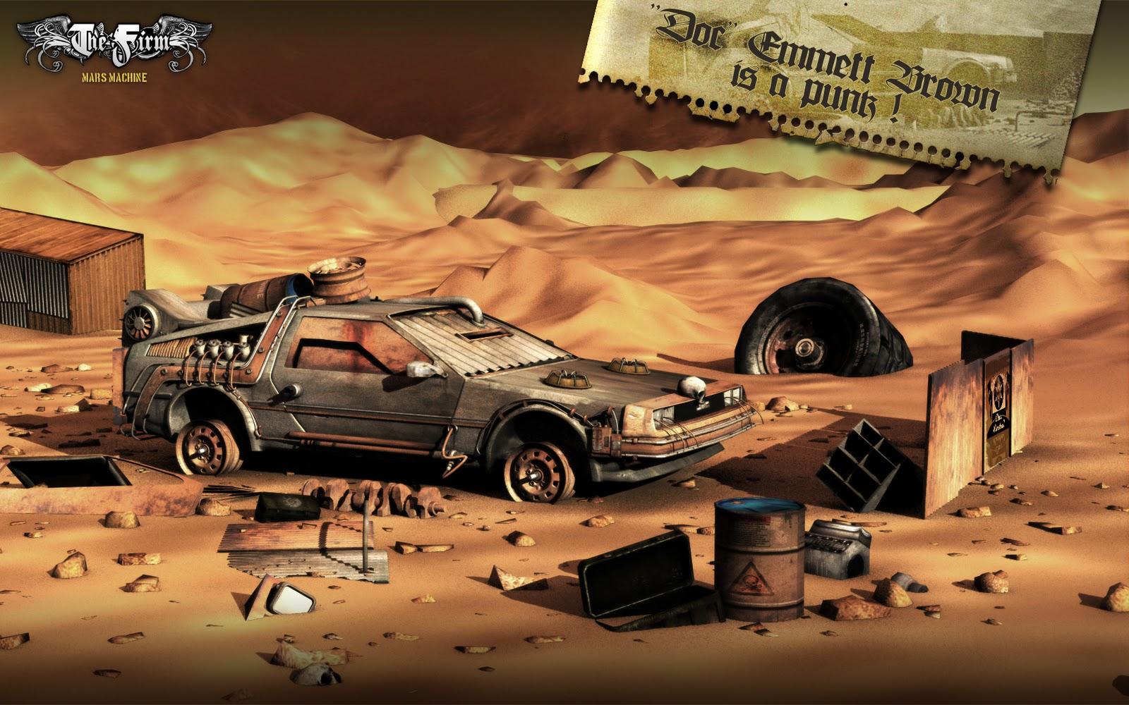 Imagem do dia - DeLorean Steampunk - Blog Back to the Future