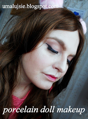 Makijaż PORCELANOWA LALKA #2/ porcelain doll makeup