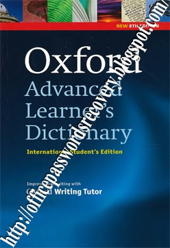 Oxford Advanced Learner's Dictionary 8th Edition Full Version Free