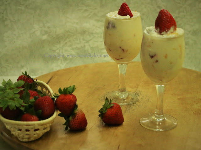 Strawberry & Orange Rind Cream