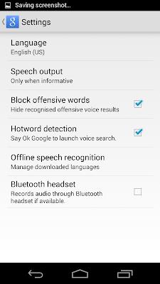 mobile language setting