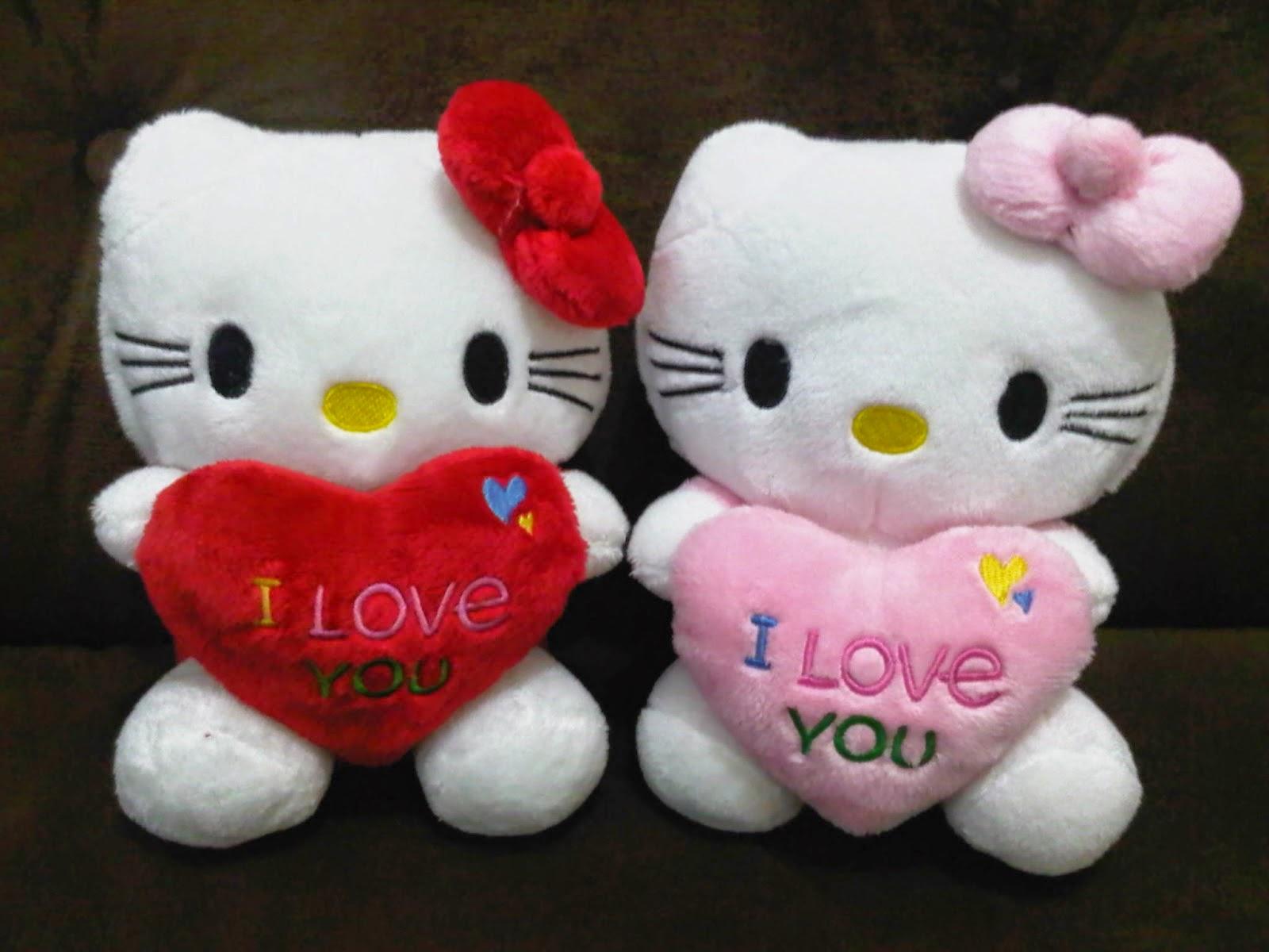 Gambar boneka hello kitty lucu untuk anak gratis