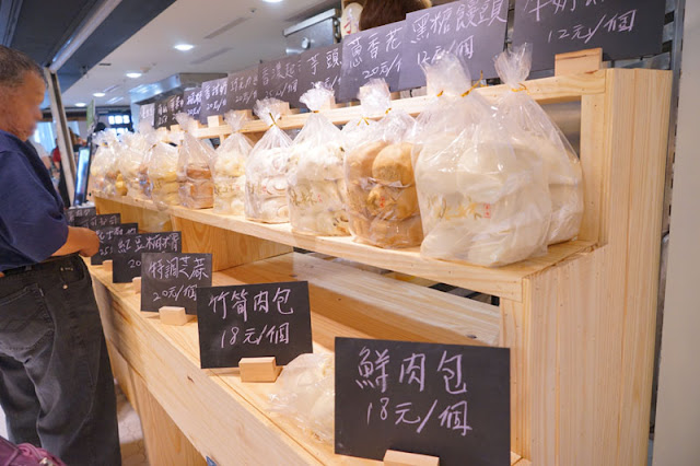 DSC04427 - 第六市場人氣商店│一開幕就爆滿的雙木林手作包子饅頭,18元肉包一掃而空要等50分鐘