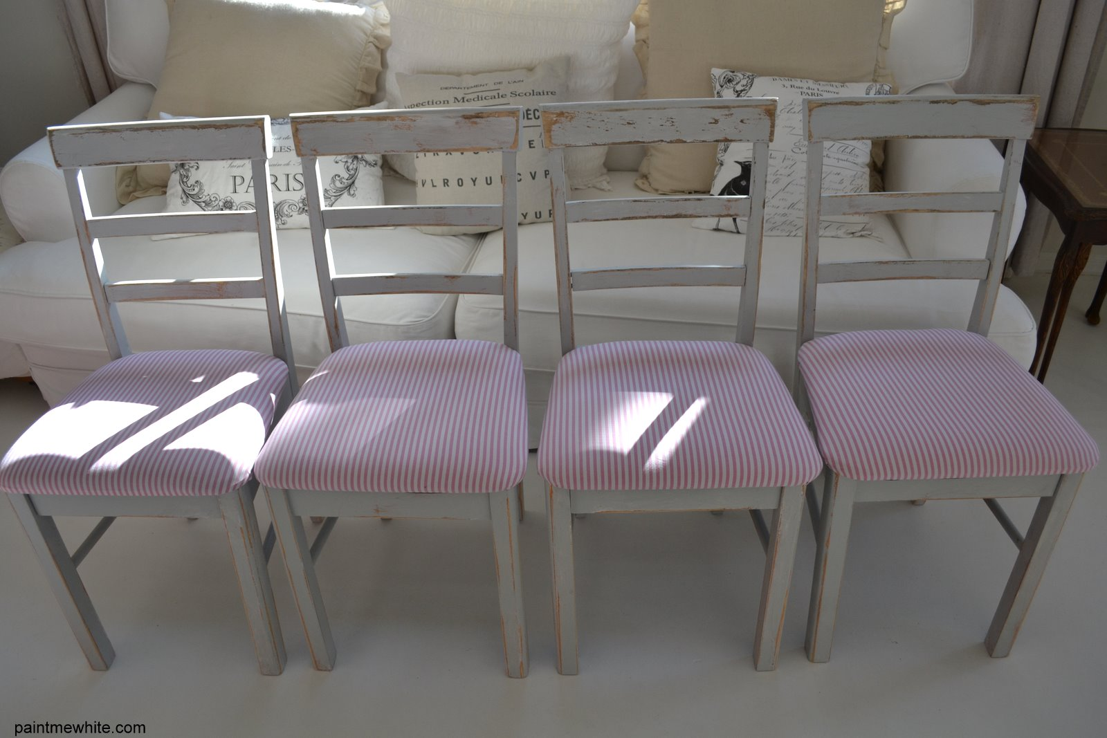 Pink Dining Room Chairs Hanging Chair Stand Uk Table With And Grey