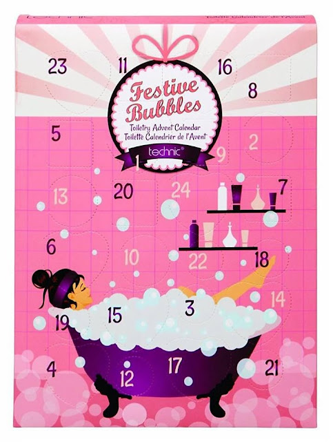 Technic Festive Bubbles Advent Calendar beauty make-up bad bath