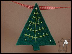 girlanda świąteczna na bogato ;)