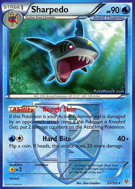 Sharpedo -- Plasma Storm Pokemon Card Review ...
