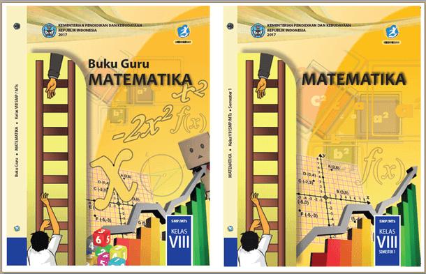 Buku Matematika SMP MTs Kelas VIII (8) Kurikulum 2013 Revisi 2017
