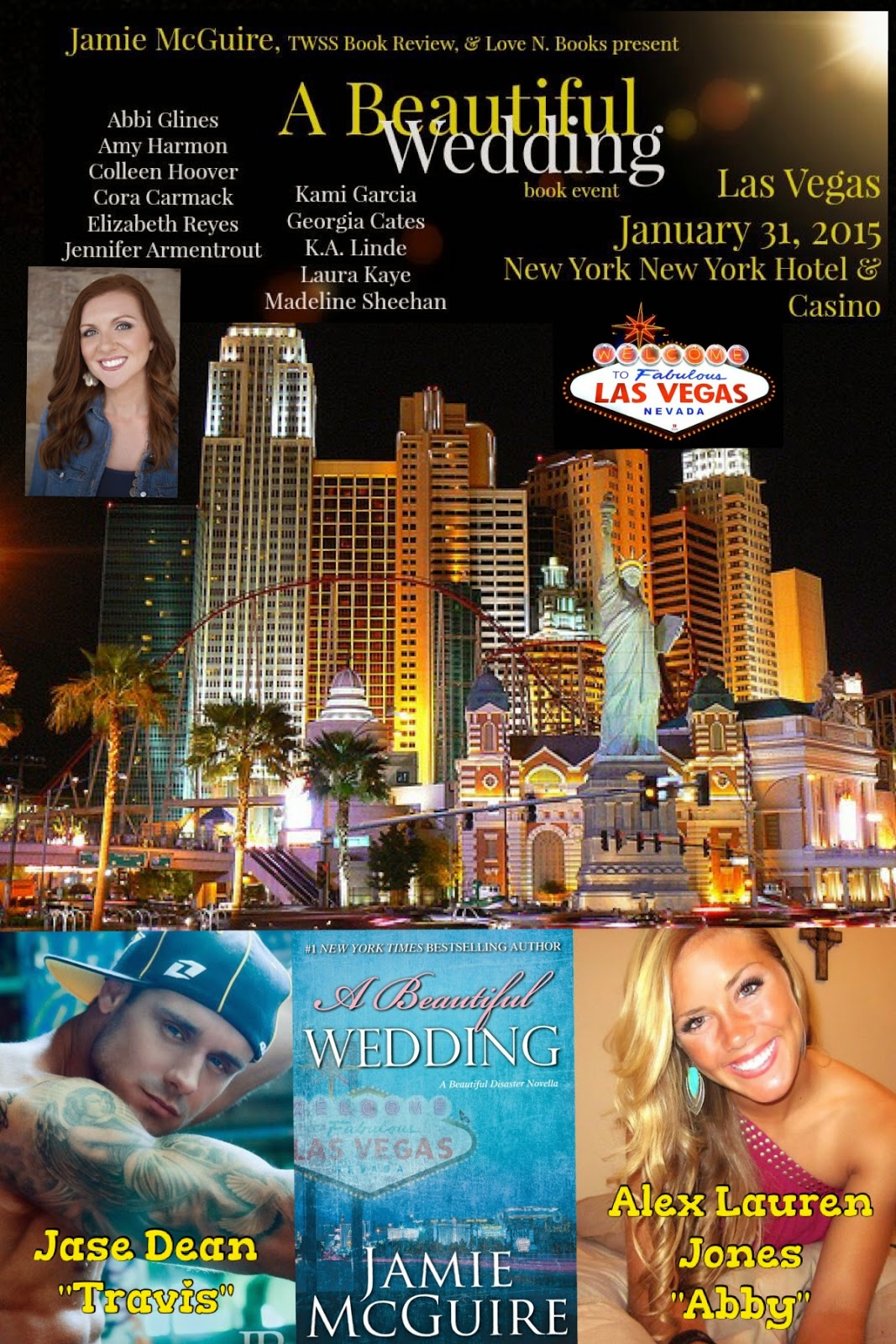 Let The Countdown To A Beautiful Wedding Book Event At New York Hotel Las Vegas In January Begin I Ll Be There You Should Too