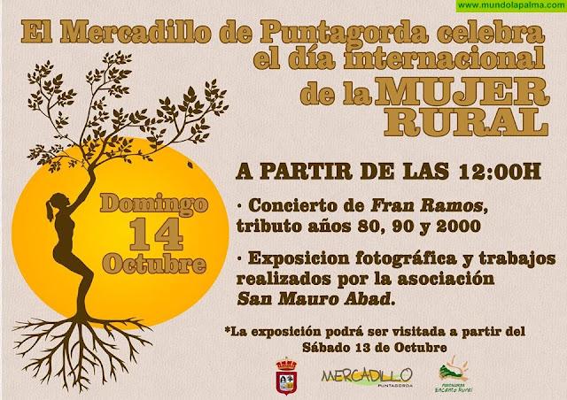 """Mercadillo Puntagorda """"Día Internacional de la Mujer Rural"""""""