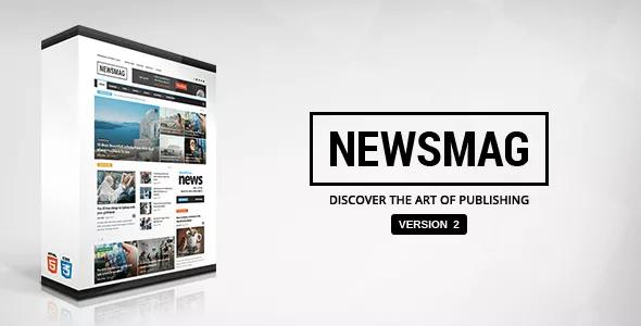 Share Template Newsmag Blogger
