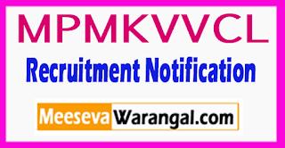 MPMKVVCL Madhya Pradesh Madhya Kshetra Vidyut Vitaran Company Limited Recruitment Notification 2017 Last Date 14-08-2017