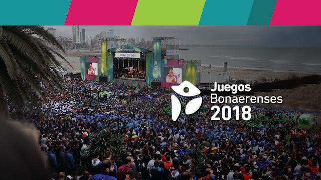 """Ya se encuentra abierta la inscripción a los """"Juegos Bonaerenses 2018"""""""